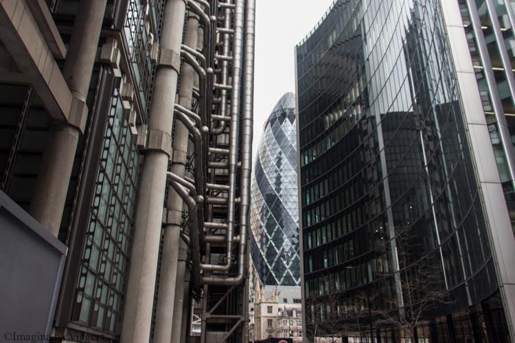 Roteiro pela City of London - O que fazer em Londres © Imagina na Viagem