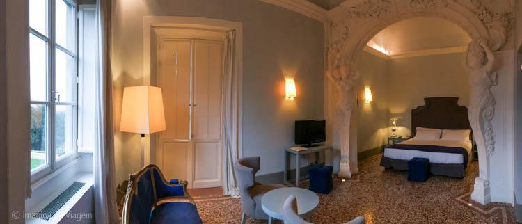 Panorâmica da Suíte - Villa Le Maschere © Imagina na Viagem