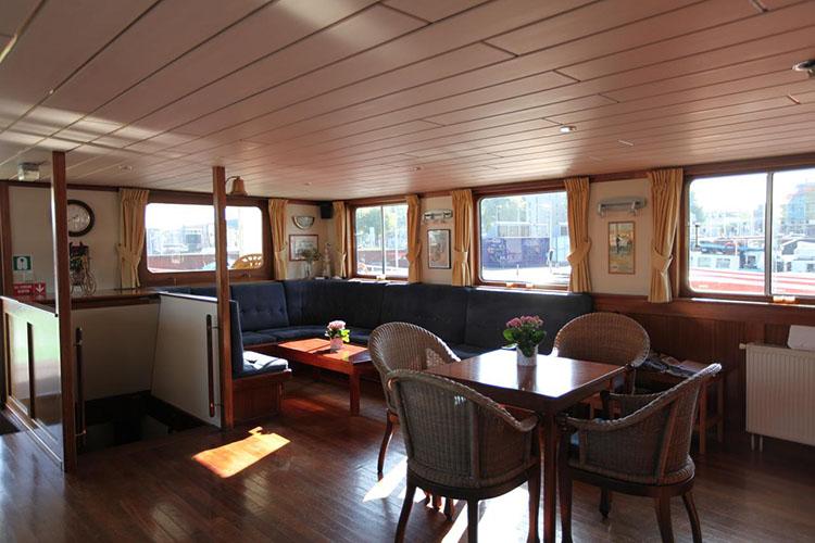 Onde ficar em Amsterdam - Hotel Boat Angeline © Hotel Boat Angeline / Divulgação