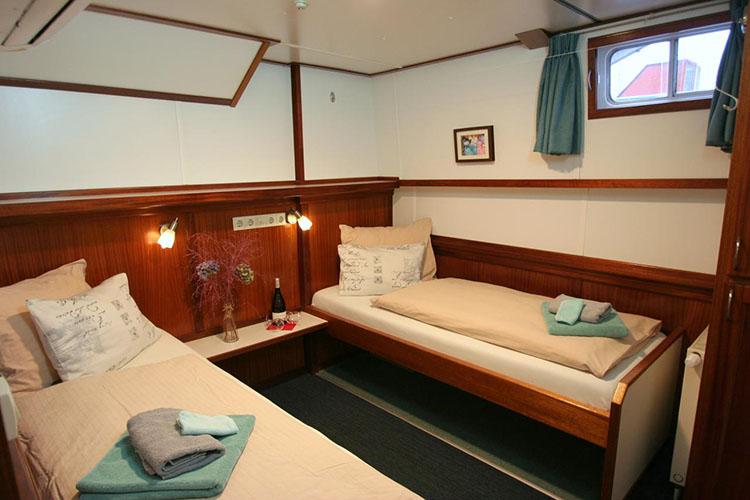 Onde ficar em Amsterdam - Hotelboat Fiep © Hotelboat Fiep / Divulgação