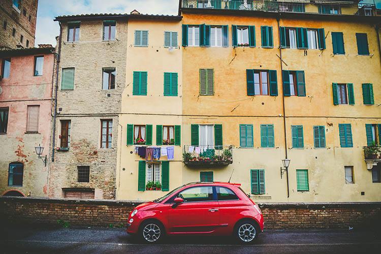 Aluguel de Carro na Itália