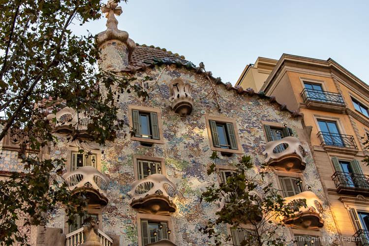 Casa Batlló - O que fazer em Barcelona © Imagina na Viagem