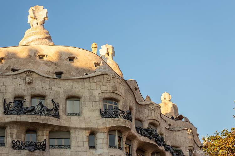 Casa Milà - O que fazer em Barcelona © Imagina na Viagem