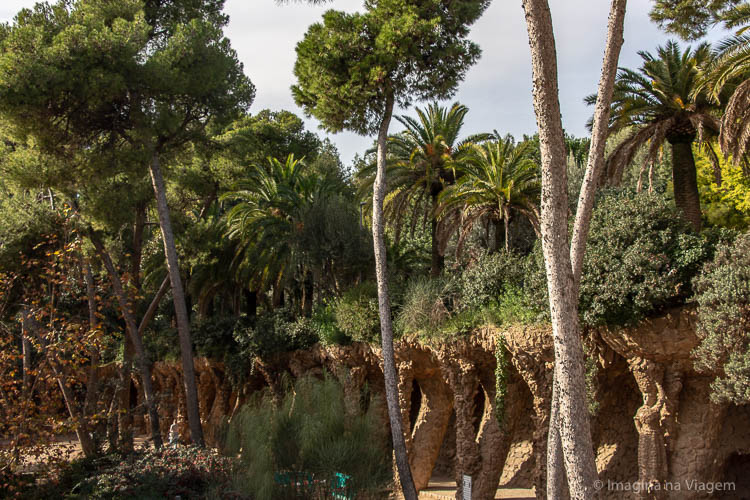 Parque Guell - O que fazer em Barcelona © Imagina na Viagem