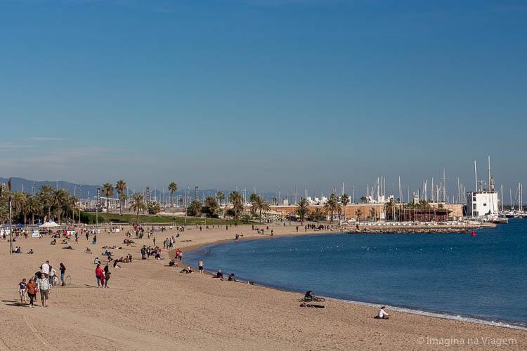Barceloneta - O que fazer em Barcelona © Imagina na Viagem