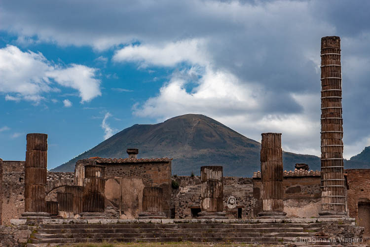 Como visitar Pompeia - Roteiro completo © Imagina na Viagem
