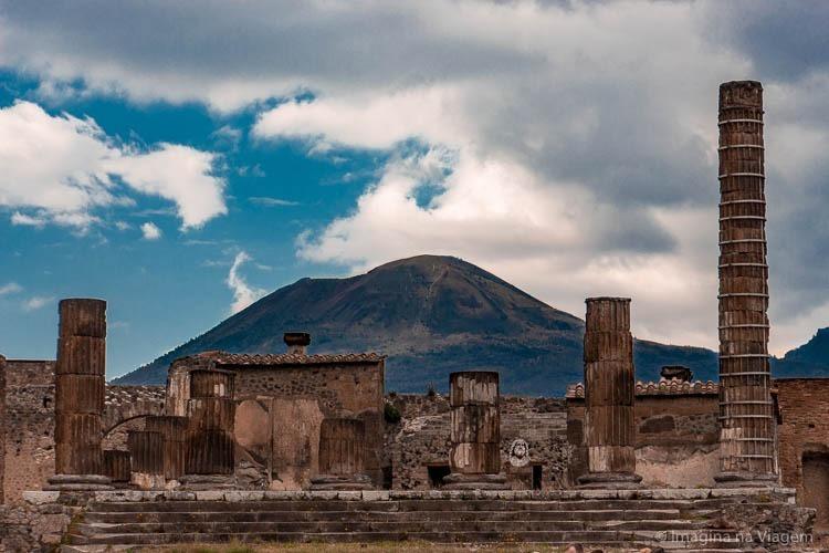 Roteiro Sul da Itália - Pompéia © Imagina na Viagem