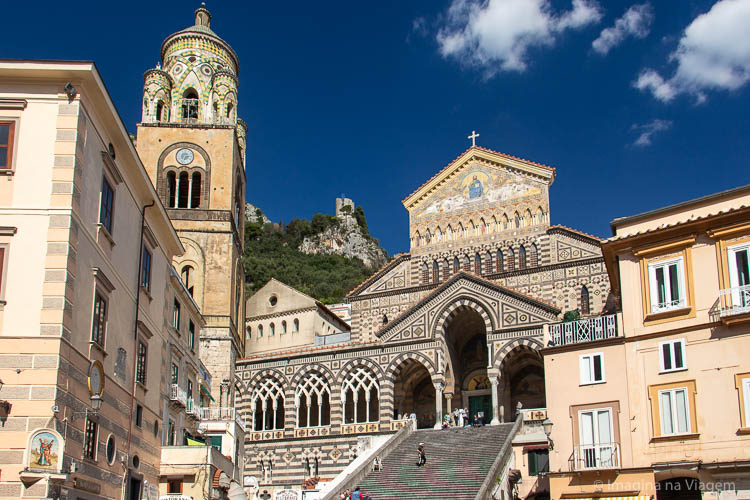 Roteiro Sul da Itália - Costa Amalfitana © Imagina na Viagem