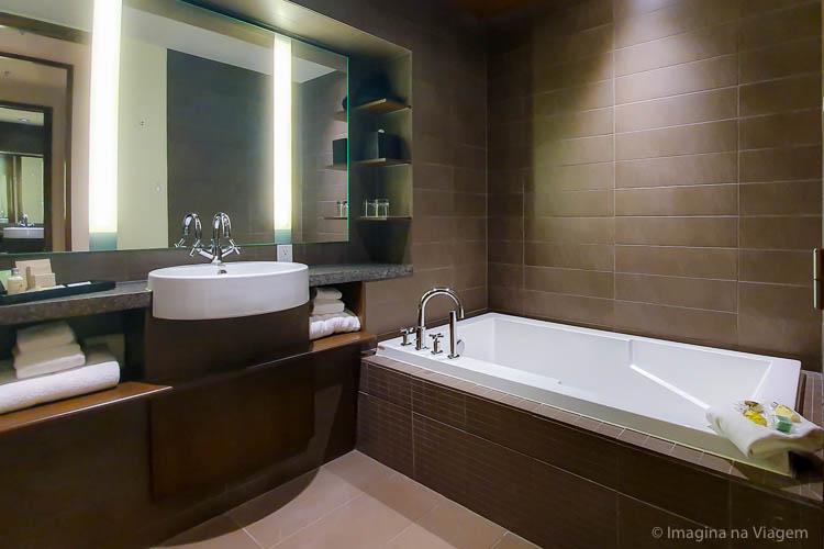 Hôtel 71 - Suíte/Banheiro - © Imagina na Viagem