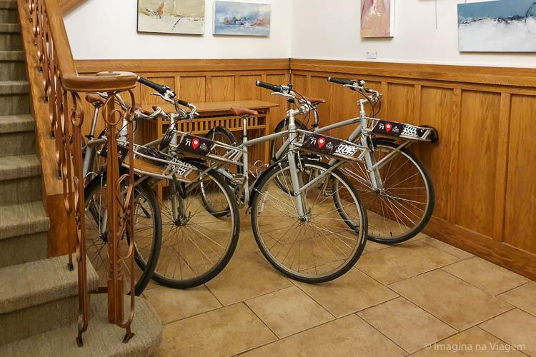 Hôtel 71 - Bicicletas - © Imagina na Viagem