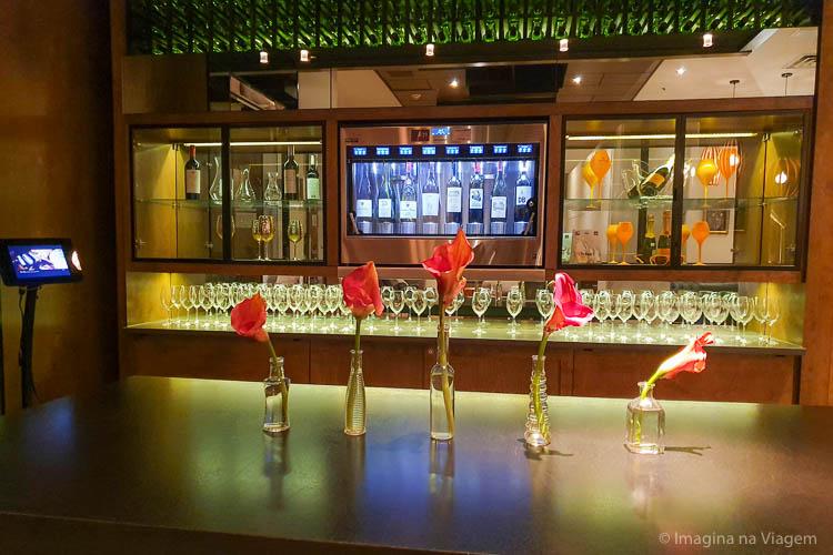 Hôtel 71 - Wine dispenser - © Imagina na Viagem