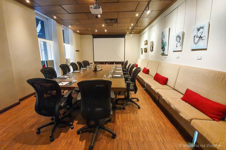 Hôtel 71 - Sala de Reuniões - © Imagina na Viagem