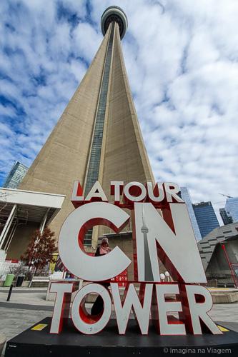 O que fazer em Toronto - CN Tower © Imagina na Viagem