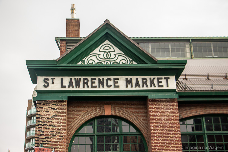 O que fazer em Toronto - St. Lawrence Market © Imagina na Viagem