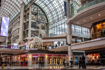 O que fazer em Toronto - Eaton Centre © Imagina na Viagem