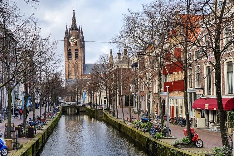 Quanto custa viajar para a Holanda - Delft © Imagina na Viagem